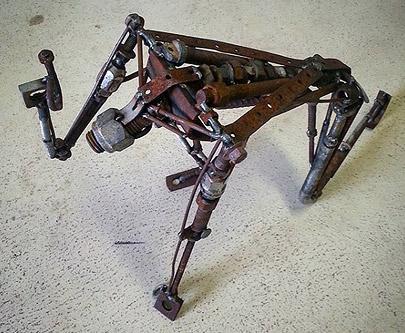 Every Knee Steel Sculpture